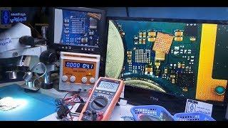 إصلاح عطل الشحن الوهمي Samsung J120h Repair Charging Ic