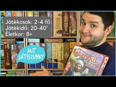 Istanbul Kockajáték Játékbemutató - Mit Játsszunk?