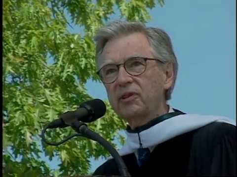Fred Rogers' 2002 Dartmouth College Commencement Address