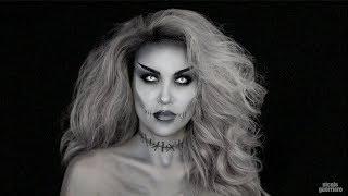 Halloween Look : Grayscale Monster Mashup