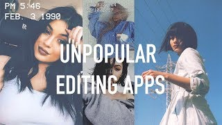 EDITING APPS // UNDERRATED part.1