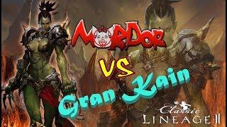 MORDOR/Ratsy/Top Tyrant PK против всего сервера Gran Kain/Lineage 2 Classic