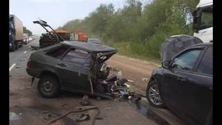 Авария на трассе «Самара-Волгоград»