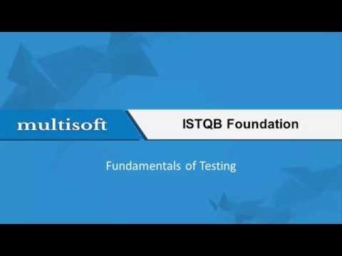 ISTQB Fundamentals of Testing - Online Video Sample