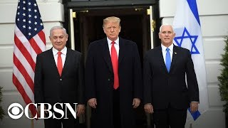 President Trump Meets With Israeli Prime Minister Netanyahu, Live Stream