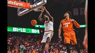 Clemson Men's Basketball || Clemson 67, Syracuse 55 [March 9, 2019]