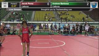 1223 Novice 80 Jacob Perez California vs Andrew Barbosa California 8431130104