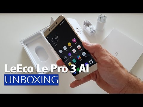 LeEco Pro 3 AI Edition Unboxing