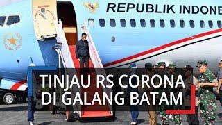 Jokowi Tinjau Pembangunan Rumah Sakit di Galang Batam, Perampungan RS Molor dari Jadwal Seharusnya