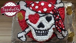 Piraten Torte Anleitung - How To Make A Pirate Girl Cake