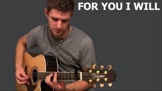 Teddy Geiger - For You I will (confidence) - by Scotty James (cover)