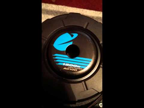 Planet Audio AC10D subwoofer review and unboxing