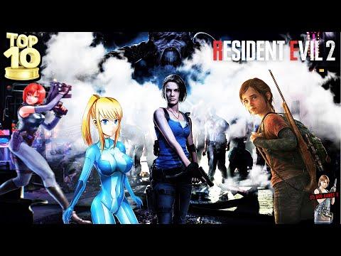 Top 10 Mods Resident Evil 2 RE 2019 - Mod Games X