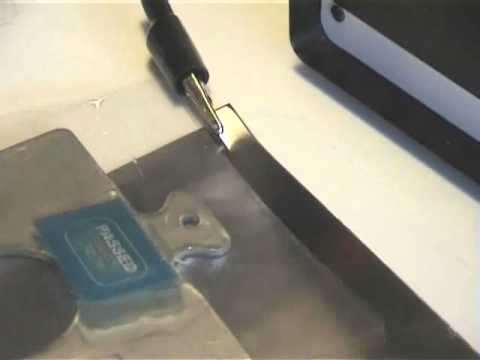 Short metal etching demonstration