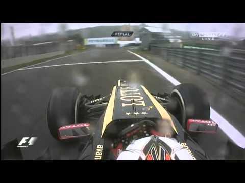 Kimi Raikkonen Forgot his Way Back to the Interlagos Circuit
