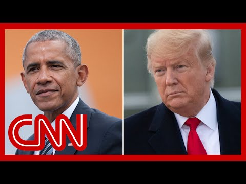 Trump says Obama lef