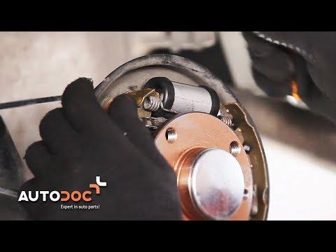 Cambio cilindretto freno posteriore FIAT PUNTO TUTORIAL | AUTODOC
