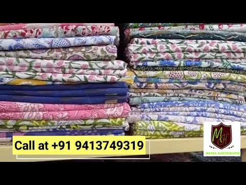 Barmer Ajrak Printed Cotton Fabric