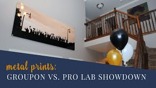 Print Your Wedding Photos! Professional Photo Lab VS A Consumer Photo Lab For Metal Prints