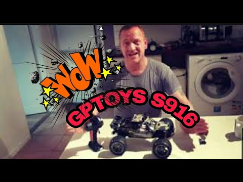 GPTOYS S916 monster truck unboxing 😁