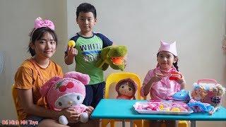 Trò Chơi Bé Tập Làm Bác Sĩ Thú Y Khám Chữa Bệnh Cho Cá Sấu Và Bé Thỏ - Đồ Chơi Thú Nhồi Bông Trẻ Em