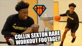 Collin Sexton RARE Workout Footage Before Leaving for Bama!! | Ready to Take College Hoops By STORM