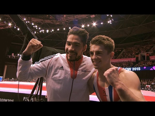 2016 British Champs - Apparatus Final Contenders