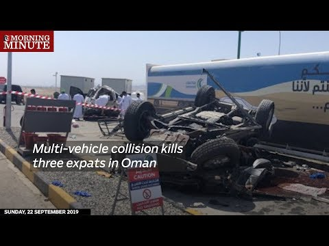 Multi-vehicle collision kills three expats in Oman
