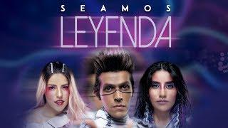 Los Polinesios - Seamos Leyenda| Nueva canción (Lyric Video)