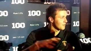 2015 Pac 12 Media Day: USC quaterback Cody Kessler