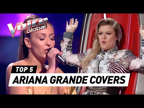 ARIANA GRANDE In The Voice (Part 2)