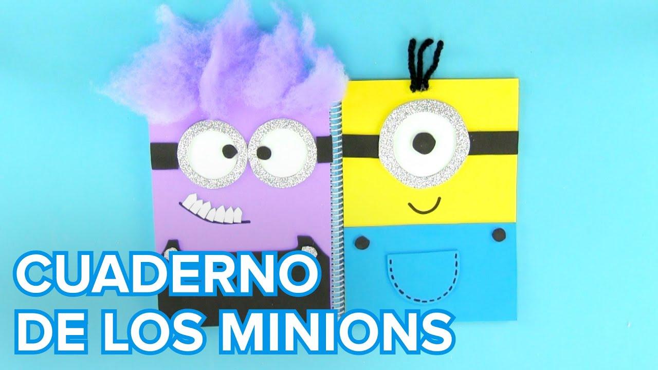 Cómo hacer un cuaderno de los Minions | Manualidades infantiles