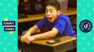 TRY NOT TO LAUGH - BACK TO SCHOOL Fails Compilation | Funny Vines August 2018
