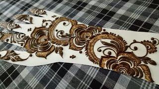 Video Dubai Henna Design 2 Heena Vahid