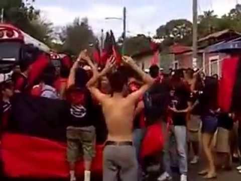 """LRN  EN DIRIAMBA"" Barra: Legión Roja y Negra • Club: Walter Ferretti"