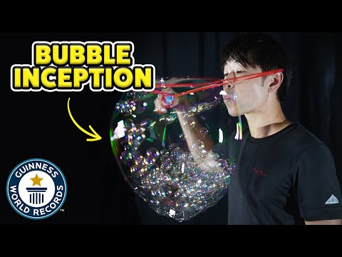 How Many Bubbles Can You Blow Inside Another Bubble?