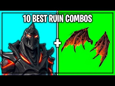 10 Best Ruin Skin Backbling Combos In Fortnite Zetralake Video