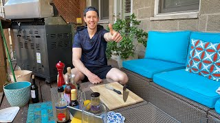 🔴 Grilled Chicken Thighs & Crunchy Kale Salad - Easy Summer Recipes LIVE