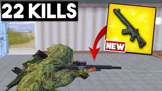 NEW WEAPON - MK47 MUTANT GAMEPLAY | 22 KILLS Solo vs Squad | PUBG Mobile