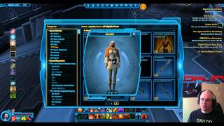 DXUN54 SWTOR Nightlife Packs Update 3 Awesome Sets and a new Weapon as well !