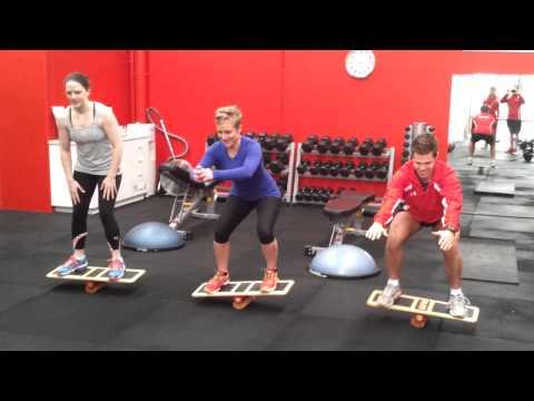 Balance Board Squat Challenge That Destroys Your Quads