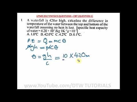 How to Calculate the Difference in Temperature(Specific Heat Capacity))