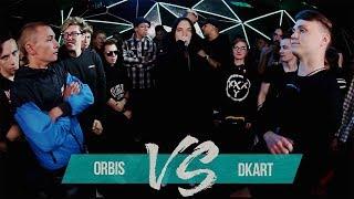 ORBIS vs DKART - GRIMETIME BATTLE FROM SIBERIA | БАТТЛ РЭП 140 BPM | GRIME БАТЛ 140 БПМ | ГРАЙМ