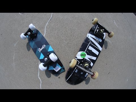 $5 MINI SKATEBOARD VS $142 MINI SKATEBOARD!
