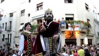 preview picture of video 'el Cable: Gegants de Sitges, 22-9-2011'
