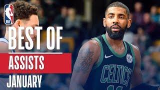 NBA's Best Assists | January 2018-19 NBA Season