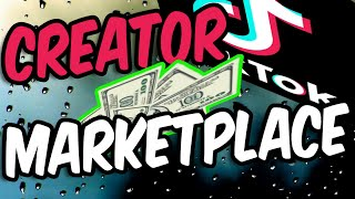 How to Get the TikTok Creator Marketplace 🔰 (and requirements)