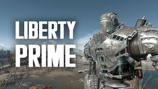 The Full Story of Liberty Prime - Fallout 4 Lore