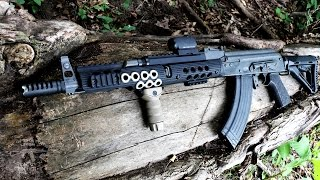 Troy Industries AK 47 Full Length Rail Review