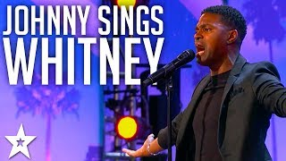 Johnny Manuel Simg Whitney Houston's I Have Nothing | America's Got Talent 2017
